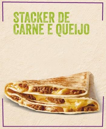TACO BELL - Stacker de Carne e Queijo