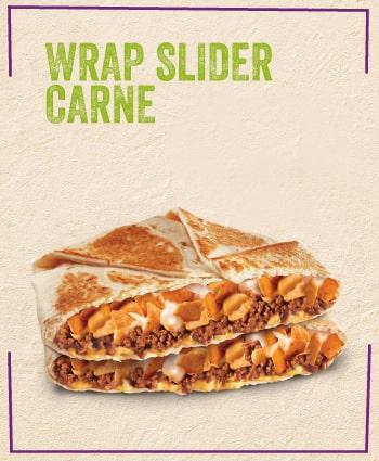 TACO BELL - Wrap Slider Carne